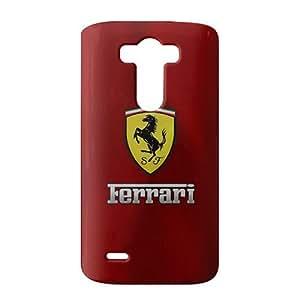 Fortune Famous car logo Ferrari Phone case for LG G3