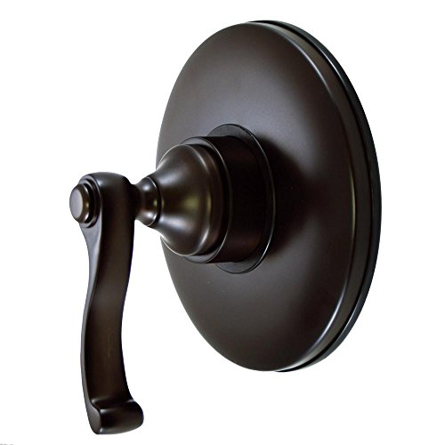Kingston Brass KB3005FL Vintage Volume Control with FL Handle, 5-1/2-Inch, Oil Rubbed Bronze by Kingston Brass