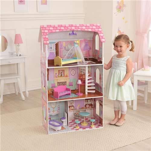 Bed Full Dollhouse - KidKraft Penelope Dollhouse