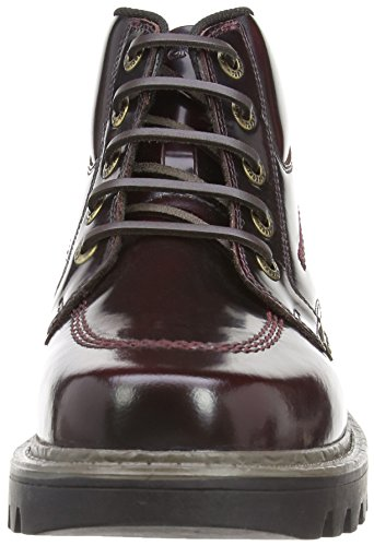 Biker Dark Red Dark Mens Red Kickers Stargent Black Boots UxzItw