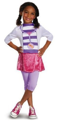 Disney Doc McStuffins Child Costume, X-Small (Doc Mcstuffins Dress)