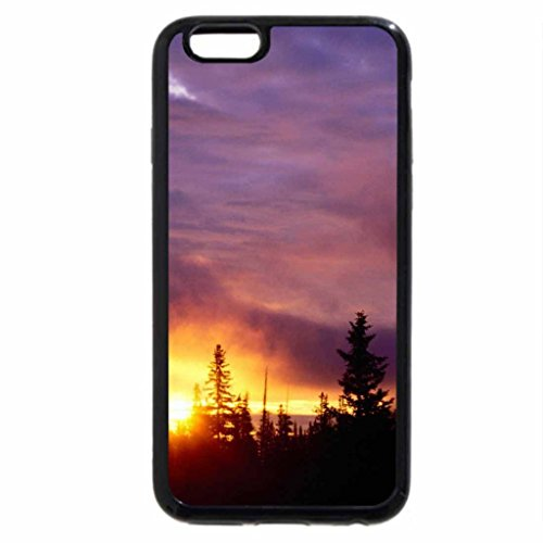 iPhone 6S / iPhone 6 Case (Black) Sunset at San Isabel National Forest, Colorado
