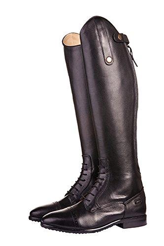 HKM stivali da equitazione Valencia Uomo Lunghi lunghezza/larghezza stretta nero