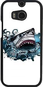 Funda para Htc One M8 - Ataque De Tiburón by Adamzworld