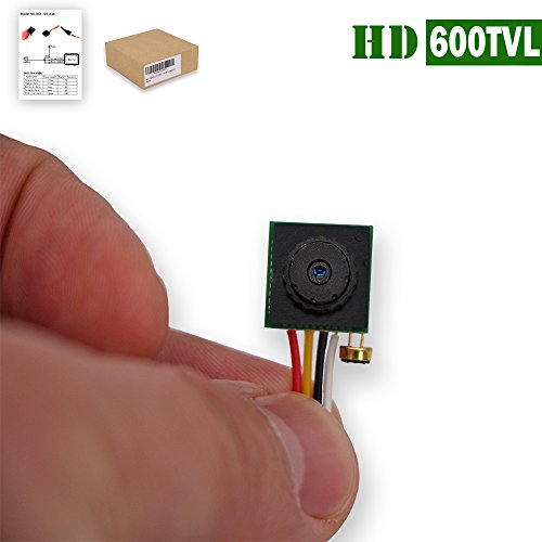 Mini Camera, OOSSXX Mini Security Camera [600 TVL] Hidden camera, Mini Camera Mini CCTV Spy Camera Pinhole Camera for Security Surveillance Cctv Security Spy Camera