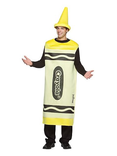 Crayola Crayon Costume - Large/XL - Chest Size (Crayola Crayon Costume Pattern)
