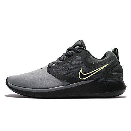 NIKE Herren Lunarsolo Grey Running Trainingsschuhe Cool Grey / Schwarz-Anthrazit-kaum Volt