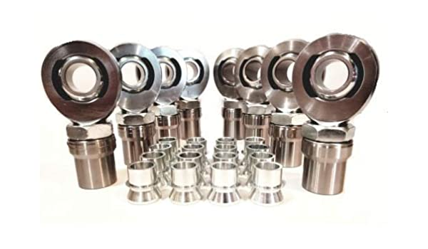 Aluminum Spacer 3//4 OD x 5//16 ID x 1//4 L Round by Metal Spacers Online 25