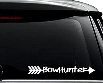 Give Em The Shaft Bowhunting Home Decor Car Truck Window Decal Sticker