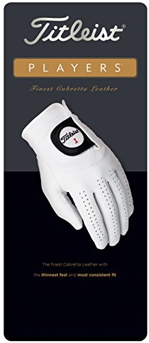 New-Titleist-Players-Mens-Golf-Glove-Fits-on-Left-Hand-Choose-Your-Size