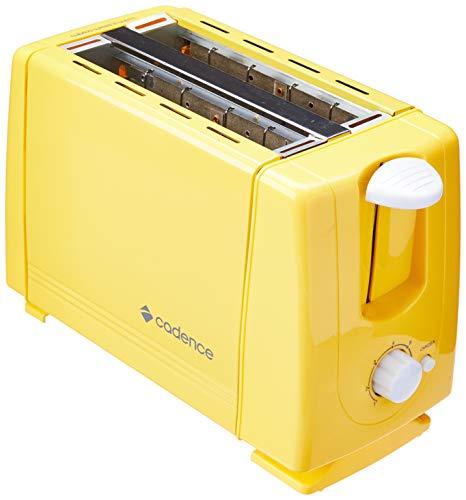 Torradeira Cadence Colors Amarela 110V