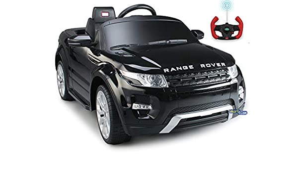 64b285c4d112 Range Rover Power 12V Electric Car for Kids - Ride On Car - Battery Powered  Ride On Toy Car - with Remote Control - Kids Ride On Toy Land Rover Evoque  MP3 ...