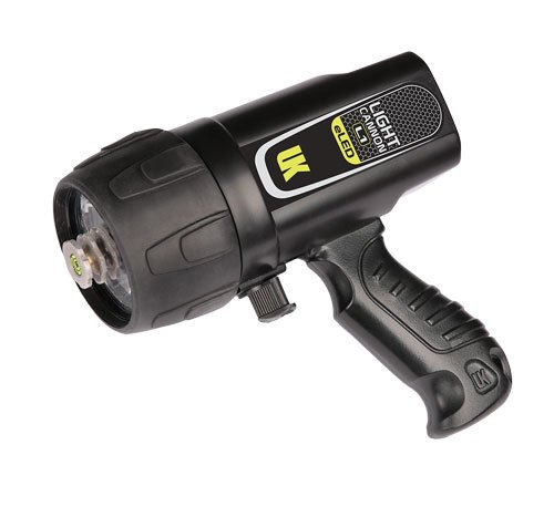 UK Light Cannon L1 Rechargeable Dive Light with NiMH Battery & Charger (Pistol Grip, Yellow) by Underwater Kinetics