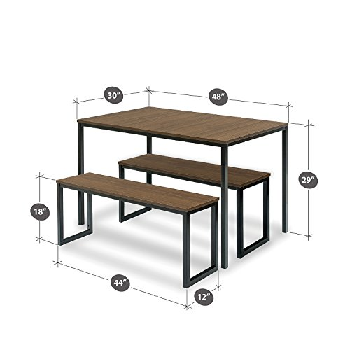 Studio Apartment Kitchen Table: Zinus Modern Studio Collection Soho Dining Table With Two