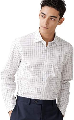 MOBILITY ウィンドウペンセミワイドシャツ