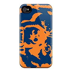 High Quality Shock Absorbing Case For Iphone 4/4s-chicago Bears