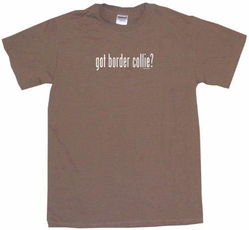 - Got Border Collie Men's Tee Shirt XL-Brown