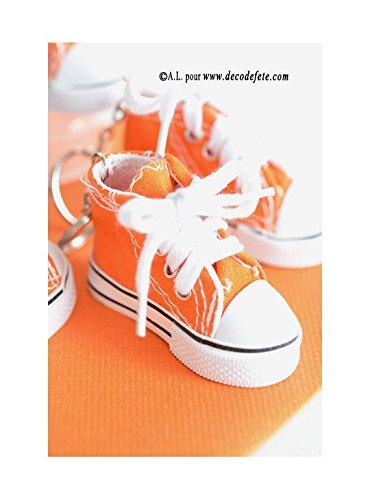Bolsita de 2 llavero Zapatillas 7,5 cm en tejido, Orange ...
