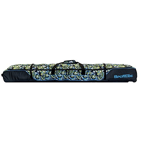 Sportube Shield 2 Padded Ski Bag, Paisley by Sportube