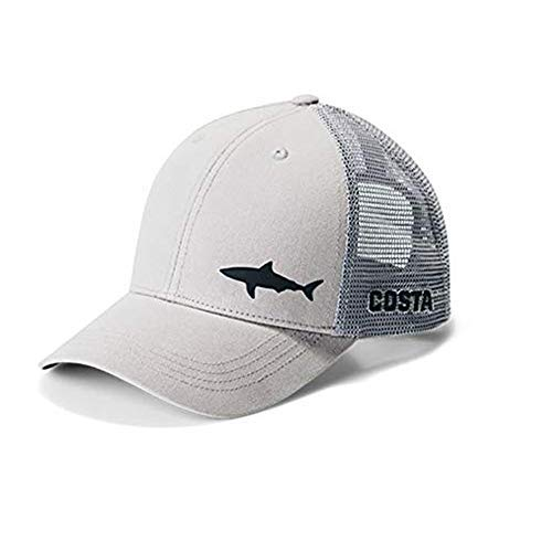 Costa Del Mar Ocearch Blitz Trucker Hat (Gray,O/S) (Fish Men Hats)
