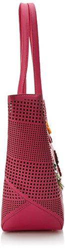 Rosa Mano cm Fucsia H x 14 para CASADEMUNT L x 00x30 Bolso LOLA W 00x44 Yaund 00 de Mujer PqTgwxIpx