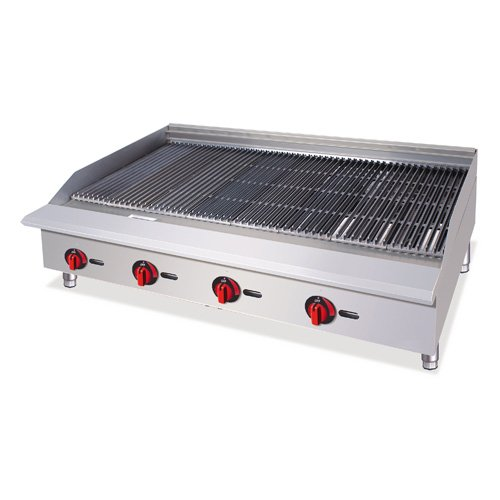 Central Restaurant CBR-36 36'' Gas Charbroiler by Central Value Series