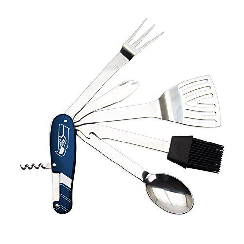 Barbeque Multi Tool (Seattle Seahawks Nfl Corkscrew)