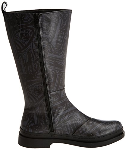 Bonn Black Boots Fantasy Box Art Women's Black fqpTw7FPcB