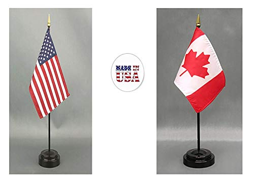 Made in The USA. 1 American and 1 Canadian Rayon 4