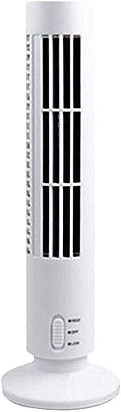 XD E-commerce Ventiladores Torre Ventiladores De Torre Ventiladores sin Mangas enfriamiento silencioso Ventiladores de refrigeración Torre silenciosa White
