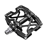 "Mzyrh Mountain Bike Pedals, Ultra Strong Colorful CNC Machined 9/16"" Cycling Sealed 3"