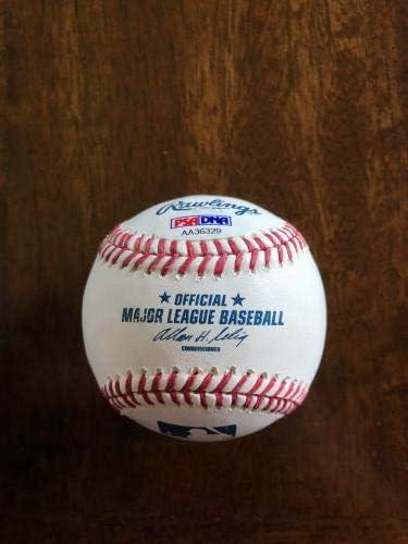 Wade Boggs HOF 2005 Signed Baseball PSA//DNA Sticker ONLY Yankees Red Sox Autographed Baseballs