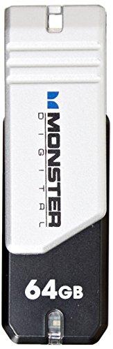 Monster Digital 64GB USB 2.0 High Speed Flash - Monster Usb Flash Drive