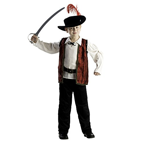 [Courageous Musketeer Costume - Size Medium 8-10] (Musketeer Sword Costume)