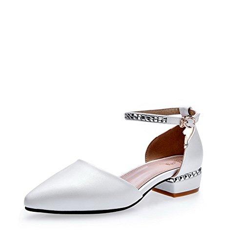 36 5 Compensées Blanc AdeeSu Femme Sandales Blanc Z8Ha8qgX