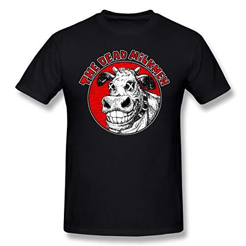 Hip Hop Dead T-shirt - StellaR. Walker Mans The Dead Milkmen Music Band Fashion Hip Pop Cycling Cotton Tops L Gift