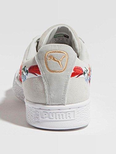 Donna Embelished Grey Sneaker Suede Hyper Puma Nero qtORER