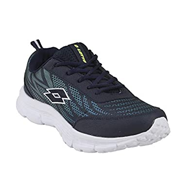Lotto Men's Callisto Grey/Blk/Yellow Running Shoes-7 UK/India (41 EU) (8907181791388)