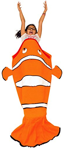 Mada synchkg112900 mada clown fish tail blanket for for Snuggie tails clown fish