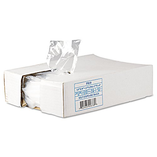 Integrated Bagging Systems Get Reddi Silverware Bags, 3 1/2 X 10 X 1 1/2, .7mil, Clear, 2000/carton By: Inteplast Group
