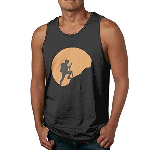 Men Sleeveless T-Shirts Hiking Exploring Nature Soft T-Shirt Tank Top