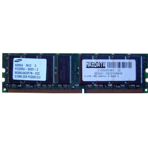512mb Pc2 3200 240 Pin - M368L6423FTN-CCC Samsung 512mb DDR 400mhz PC-3200 240-Pin Non-Ecc