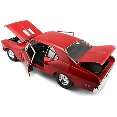 1-18 1970 Chevy Nova SS Coupe 31132: Toys & Games