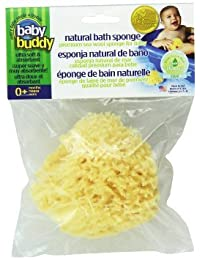 """Baby Buddy's Natural Baby Bath Sponge 4-5"""" Ultra Soft Premium Sea Wool Sponge Soft on Baby's Tender Skin, Biodegradable, Hypoallergenic, Absorbent Natural Sea Sponge BOBEBE Online Baby Store From New York to Miami and Los Angeles"""