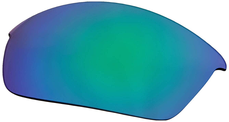 487a879becc Amazon.com  Oakley 41-850 Flak Jacket Replacement Lens Kit Jade Iridium   Clothing