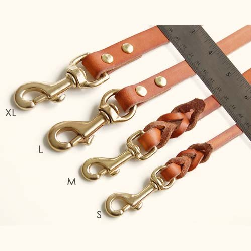 Leather 6' Multi-Function Leather Leash by Bold Lead Designs (X-Large) by Bold Lead Designs (Image #1)
