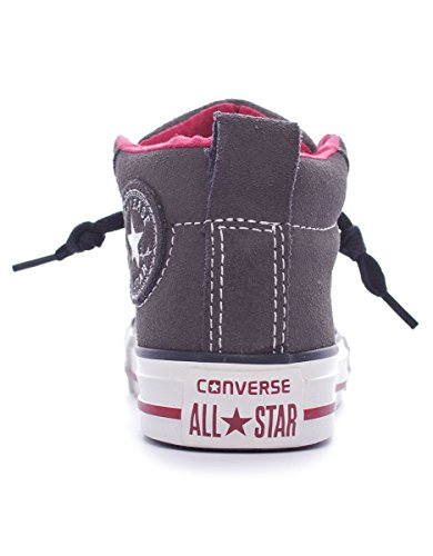 Converse Chuck Taylor Street Mid Suede mixte enfant, suède, sneaker high