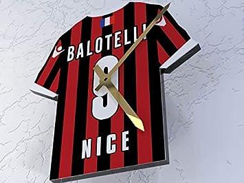 MyShirt123 OGC Nice FC Club de fútbol - Camiseta de fútbol Reloj - Cualquier Nombre y Cualquier número - Elegir.: Amazon.es: Deportes y aire libre