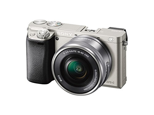 Sony Alpha a6000 Mirrorless Digital Camera with 16-50 mm Lens 24.3MP (Silver) (Renewed)