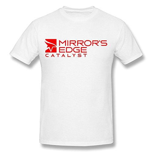 Kazzar Men's Mirror's Edge Catalyst Logo T Shirt XL